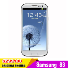 Smartphone Original Samsung S3 i9300 i9305 Quad Core 8MP Camera NFC 4.8'' GPS Wifi 3G Unlocked mobile phone