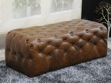 U-BEST high quality Bedbeach,living room Footstool,leather bench for changing roo,bed chair