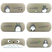 Cartoon Tororo design Sunglasses Hard leather glasses Case cute Protector Sunglasses Box eyewear cases optical accessories(China)