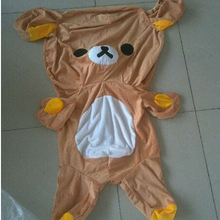 60-140cm Large Rilakkuma Bear skin, Plush Stuffed TOY, Soft Figure DOLL, teddy bears hull, animal clothes