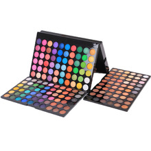 180 Color Eye Shadows Professional Makeup Kit Palette Set Cosmetics Eyeshadow Women Beauty Tool(China)