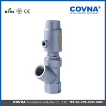 COVNA HK17M2 high quality factory price small size spring return pneumatic actuator angle seat valve
