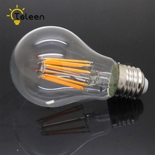 TSLEEN Led Bulb 8W 16W AC 220V Vintage Dimmable Filament Light Ancient Edison LED Bulb E27 Screw Lamp Super Bright G45/A60