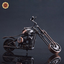 WR Luxury Home Decor Handmade Motorcycle Model Toys Unique Souvenir Gifts Metal Crafts Toy for Men Gift Home Decor