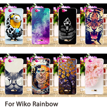 Phone Cases For Wiko rainbow Explay Fresh 5.0 inch Cases Colorful Dirt-resistant Hard Back Covers Skins Housing Sheath Hood Bag