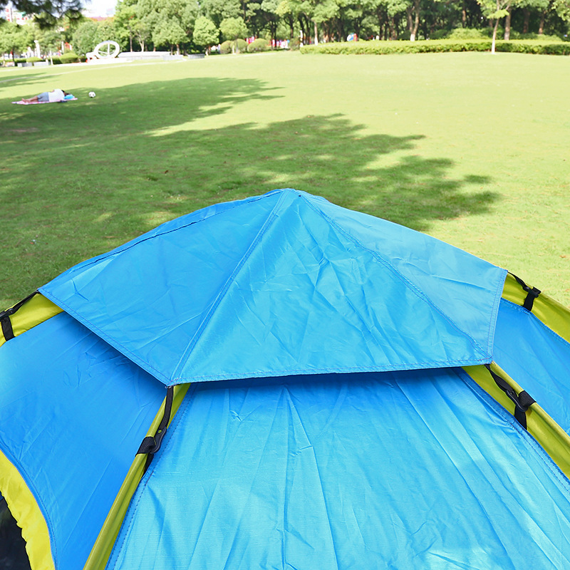 Outdoor Fishing Automatic Tent Camping Garden Picnic Set Hunting Roof Tent Tabernacle Beach Windbreak Fiberglass Pole (10)