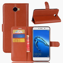 Buy High Flip Wallet Leather Case Bussness Card Slot Stand Cover Huawei Y7/ Nova Lite+ Holder Protector Bag Phone Shell for $3.32 in AliExpress store
