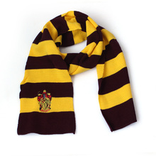 Harri Potter Scarf children college scarves Gryffindor slytherin scarf thicker Holiday gifts Magic School scarf Ravenclaw SQ122
