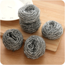 Stainless steel kitchen clean ball wire ball washing brush wire brush the ball artifact brush pot(China)