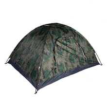 New Military Tactical 190T Polyester   Waterproof Oxford Easy Setting Monolayer Tents For 2 People Paintball Accessory CL16-0016