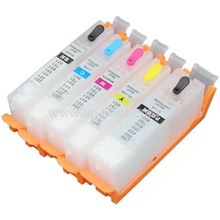 PGI-450 XL Refillable ink cartridge For Canon PIXMA IP7240 MG5440 MX924 MX724 printer ink with auto reset Chip(China)
