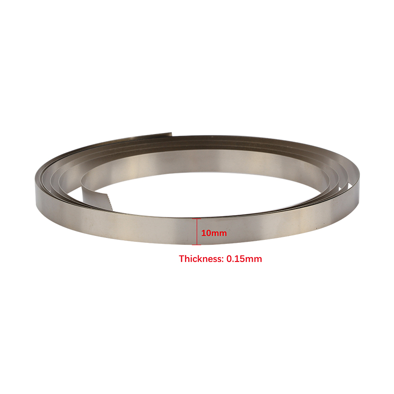 5 M Longueur 8x0.15mm ni Plaque Nickel Strip Bande Pour Li 18650 batteryspot soudage