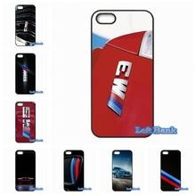 BMW M3 M5 Logo Phone Cases Cover For Apple iPhone 4 4S 5 5C SE 6 6S 7 Plus 4.7 5.5 iPod Touch 4 5 6(China)