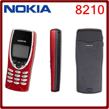 8210 Original Nokia 8210 GSM 2G Unlocked Cheap Cell Phone One year warranty Free Shipping(China)
