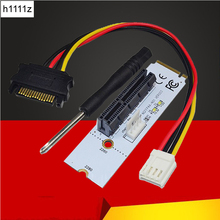 Buy New NGFF M.2 Key M PCI-E 1X 4X 8X 16X Riser Card ETH ETC Graphics Card Mining Slot Adapter LED BTC LTC Miner Machine for $3.92 in AliExpress store