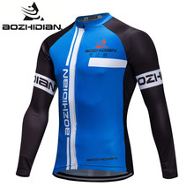 2017 AZD58S Specialized Cycling Jersey Funny Long Sleeve MTB Pro Team Men Bike Custom Maillot Ropa Ciclismo Cycling Jersey(China)