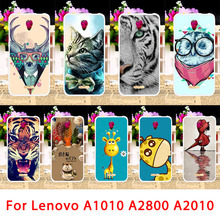 Mobile Phone Cases For Lenovo Vibe B A2016 A1010 A2010 A20 A Plus A1000 A2580 A2800D Cover Animals Back Bag Housings Sheath Skin