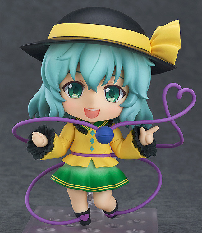 10.5 CM Japanese anime figure Nendoroid #604 Touhou Project Koishi Komeiji Action Figure Anime Cute Girl Model<br><br>Aliexpress