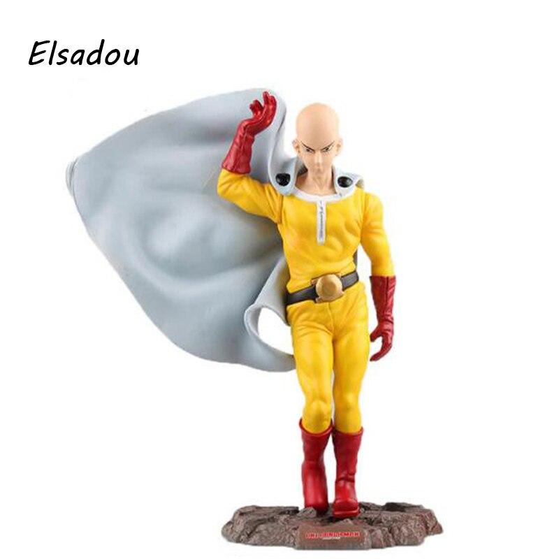 Elsadou One Punch Man Action &amp; Toy Figures Saitama 24cm Original Box Kids Collection Toys<br>