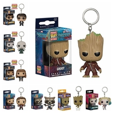 26 patterns Funko POP Harry Potter Keychain Hermione Granger Lord Voldemort toy Figure Deadpool Captain America The Walking Dead