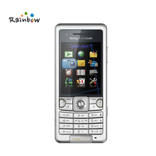 Original Sony Ericsson C510 GPS 3G 3.15MP Camera Unlocked Cell Phone with Memory Card Slots Up to 8GB(China)