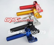 FREE SHIPPING CNC Alu throttle settle for dirt bike, pit bike spare parts Brand New SH-307(China)