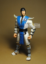 Limited! 16CM High Classic Toy Mortal Kombat 9 fighting deadly lightning action figure Toys