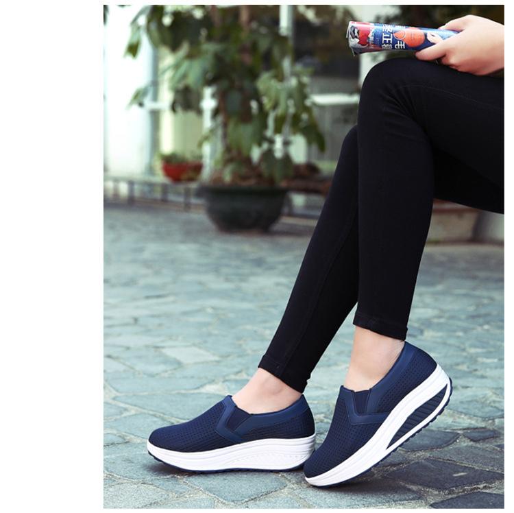 RS 3308 (15) 2017 Autumn Women's Platform Shoes