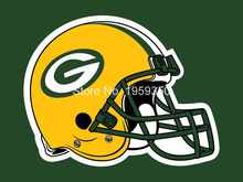 Green Bay Packers Helmet Flag 3ft x 5ft Polyester Team Banner Flying flag white sleeve with 2 Metal Grommets 40146(China)