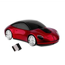 Creative 2.4GHZ Wireless Car Shape Mouse 1600DPI Wireless Optical High Precision Mouse Mice For PC Laptop Computer
