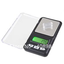 50pcs/lot by dhl fedex Hot Mini Scale 0.01 x 200g Digital electronic Pocket Balance Jewelry Weighing Scale(China)