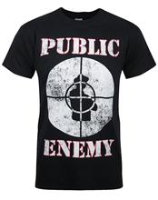 2017 New Arrivals Cool Official Public Enemy Logo Design T Shirt Hot Sales Tops Customize Printed Short Sleeve Tees