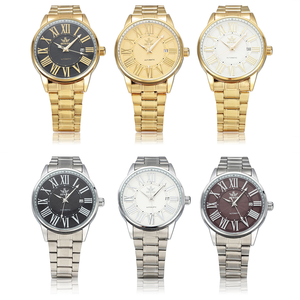 Automatic Mechanical Watches Classic Hollow Steel Watch Band For Sewor Hot!<br><br>Aliexpress