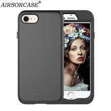 Buy Apple iPhone 7 8 Cover 4.7'' iPhone7 iPhone8 Case Hard PC & TPU Silicone Hybrid Anti-knock Back Cover Mobile Phone Cases for $6.22 in AliExpress store