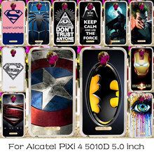 TAOYUNXI Silicone Phone Cover For Alcatel OneTouch Pixi 4 5.0 inch OT-5010 5010D Bag Case Cover 5010X 3G Version Housing Cases