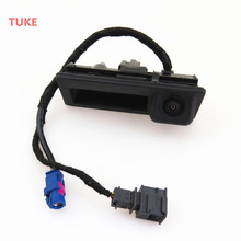 TUKE 1 Pcs RGB Rear View Reversing Camera Machine Models For RCD510 Jetta MK6 Tiguan Passat B7 Touareg 56D 827 566 A 56D827566A(China)