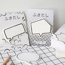 Creative Shaped Sticky Notes Fashion Desktop Memorandum Stationery School Supplies