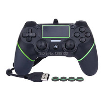 PS4 Controller 1.8M USB Wired Gamepad For Playstation 4 Dualshock 4 Joystick Gamepads Multiple Vibration For PS4 Console(China)