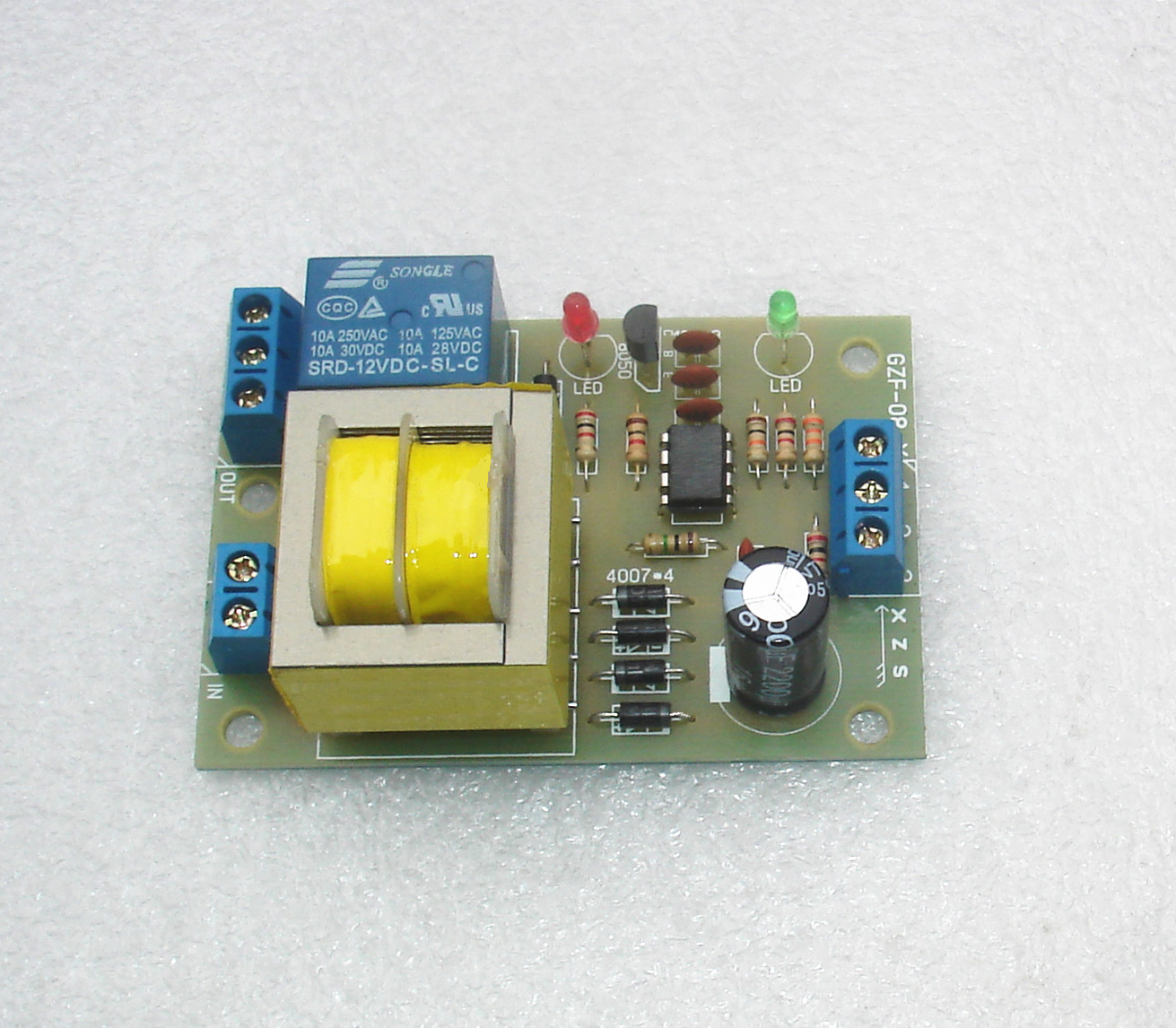 Get Of Air Circuits In Kihagers Electronic Switch Integrated Circuit Controlcircuit