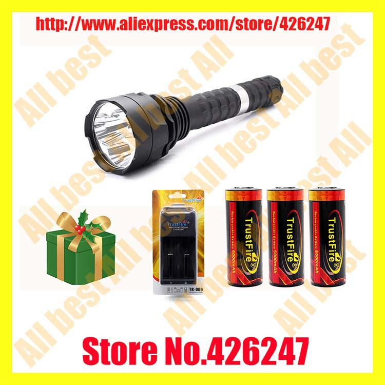 2SET TrustFire TR-J19 4100LM cree xml t6 led rechargeable tactical flaashlight<br><br>Aliexpress