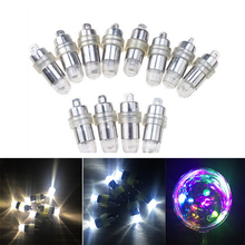Meaningsfull 100pcs/Lot  Mini Waterproof  White Led Balloon Lights Submersible Lamps For Lantern Party Vase Wedding Xmas Decor