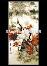 Доступны коклюш кран животных рукоделие Вышивка Крестом Пакет вышивки крестом комплект Заводская распродажа(China)
