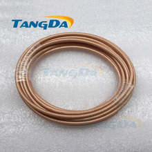RF coaxial cable RG142 SFF-50-3 coaxial cable silver Teflon high temperature line Wire Free Shipping A.(China)