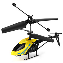 Mini RC Drone 901 Micro Helicopter Shatter Resistant 2.5CH Flight Remote Control Helicopter Toys With Gyro System With LED Light