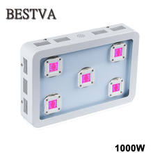 1000W LED Grow Light ,5PCS Integrated 200W LEDs ,Full Spectrum Best for plant growth and bloom ,High  lumens