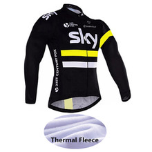 2018 Winter Thermal Fleece Men Cycling Jersey/Bike Maillot Ciclismo Cycling Clothing MTB Ropa Ciclismo -W49M4(China)