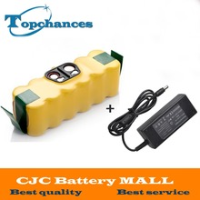 14.4V 3500mAh Ni-MH Battery for iRobot Roomba Vacuum Cleaner 500 560 530 510 562 550 570 581 610 650 790 780 532 760 770+Charger