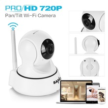 SANNCE 720P IP Camera 6 IR leds night vision with IR Cut filter indoor 1MP Wireless CCTV Surveillance camera Baby monitor