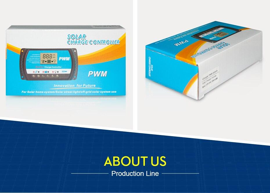 EASUN POWER Solar Charge Controller 30A 20A 10A Voltage Regulator ICharger PWM 24302010-R DES-13