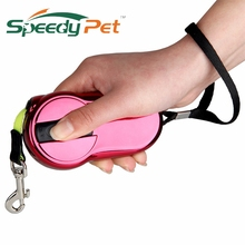 Hot New Arrival!Dog Leash Pet Leash Automatic Retractable Leash 2M Products For Animals 2 Color for Puppy Small Dog Free Shippng